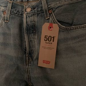 Levi's Jeans - Brand new with tags Levi series 501 taper jeans